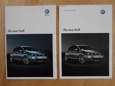 VOLKSWAGEN GOLF GTI orig 2008 UK Mkt Sales Brochure + Price List - VW