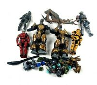 Mixed lot of Mcfarlane Halo Action figures - ALL ARE BROKEN