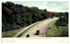 1909 Lower Drive of the Boulevard from St. Claire Street, Cleveland, OH Postcard