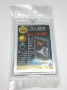 1 ULTRA-PRO ONE-TOUCH Magnetic 55PT UV Protected Card Holders as picture in