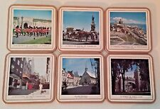 VINTAGE~PIMPERNEL FAYREINGS~ Coasters NIB ~ City of Quebec ~ Made in England