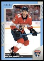2020-21 UD O-Pee-Chee Blue Border #63 Mike Hoffman - Florida Panthers