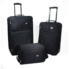 American Tourister Brewster 3-Piece Luggage Set, Black