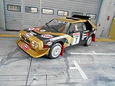 LANCIA Delta S4 Rallye Gr.B San Remo #7 Tabaton Esso 1986 IXO Triple9 NEU 1:18