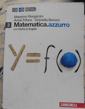 MATEMATICA.AZZURRO VOL.3 - M.BERGAMINI A.TRIFONE G.BAROZZI - ZANICHELLI