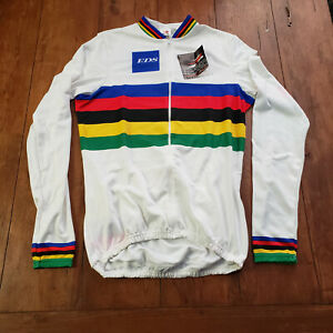 Aussie Mens XL Cycling Jersey Heavy UCI EDS Long Sleeve (Jacket) NOS LS