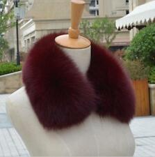 16 color Real fox fur collar genuine scarf shawl Wrap length 50cm 0.1
