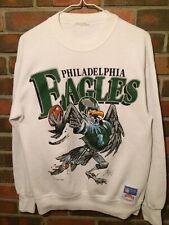 Vintage Philadelphia Eagles Cartoon Eagle Crewneck Sweatshirt Mens M Nutmeg 1988