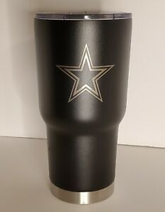 NWT DALLAS COWBOYS NFL 32oz Insulated Stainless Steel Tumbler Hand Wash Only