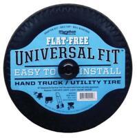 "Marathon 00210 Universal Fit Flat Free Hand Truck & Utility Tire, 10"""