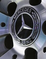 Mercedes Wheel Centres Hub Caps 75mm A C E Class Replacements for Refurb Alloys