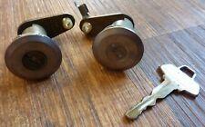 1965 65 Ford Fairlane Door Locks with Logo Key Pair Set LH RH C5AB-6221970-A OEM
