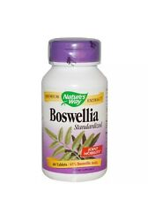 Nature's Way - Boswellia, Standardized, 60 Tablets FAST SHIPPING