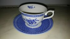 CHURCHILL OUT OF THE BLUE MARY GILLIANT CUPS SAUCERS  PLATES
