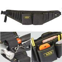 Portable Electrician Waist Pockets Tool Bag Organizer Holder Multi-functi Bag