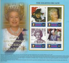QEII 2006 QUEEN ELIZABETH II 80th Birthday MNH Stamp Sheetlet Papua New Guinea