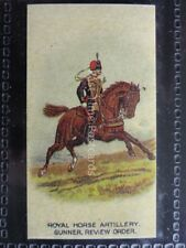 No.23 ROYAL HORSE ARTILLERY GUN Types of the British Army REPRO of Wills/Capstan