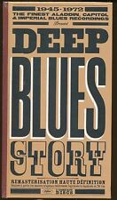 DEEP BLUES STORY  1945- 1972 3 CD's: 55 titres (COFFRET NEUF)