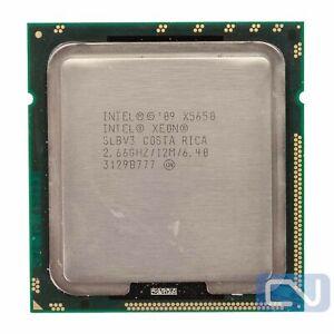 Intel Xeon X5650 SLBV3 2.66 GHz 6.4 GT/s 12MB LGA 1366 B Grade CPU Processor
