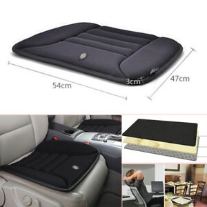 Protector Car Seat Cover Cushion Black Front Cover Universal Soft Space Memory