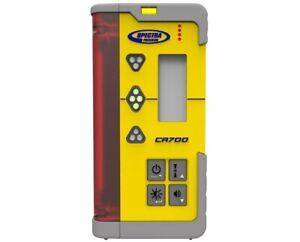 Spectra Precision CR700 Laser Machine Control Receiver, C71 Magnetic Mount Clamp