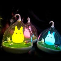 Bedroom Night Lights LED Nightlight Home Decor Lamp Touch Sensor Lovely Gift Hot