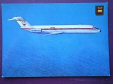 POSTCARD DOUGLAS DC-9 AEROPLANE  FOR IBERIA AIRWAYS