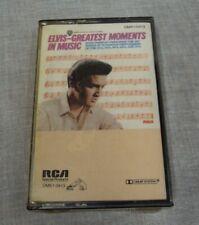 ELVIS PRESLEY Cassette Tape ~ Candlelite GREATEST MOMENTS IN MUSIC ~ DMK1/0413
