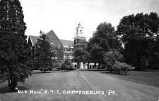 Shippensburg Pennsylvania Old Main STC Real Photo Antique Postcard K95695