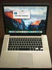 MacBook Pro (15-inch, Late 2008) Silver A1286 (Unibody)