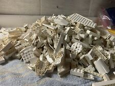 LEGO LOT BRICKS PLATES AND PEICES 1/4LB (WHITE)