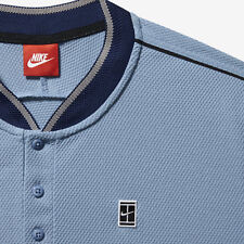 NikeCourt caual polo in adult M - work blue. RRP of £70!
