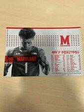 University of Maryland 2019/20 Men's Basketball Magnet Schedule