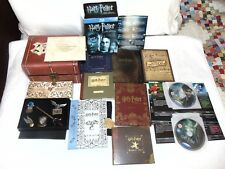 Harry Potter PRESTIGE COLLECTION (BLU RAY + DVD) Case Bookmarks Game Bonus