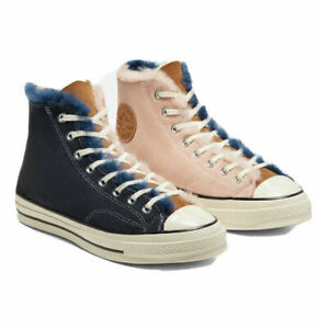 Converse Chuck 70 Shearling Lined High Top Sneakers Men's Shoes Size 12