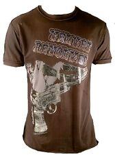 Porté Amplified Official velvet revolver strass rock star trous t-shirt G.M