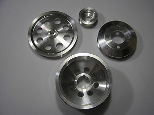 UD Underdrive Crank Pulley Set fits Toyota Supra 7MGTE all