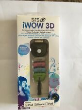 New SRS Labs iWOW-3DHF Audio Enhancement Adaptor for iPhone iPod iPad Multicolor