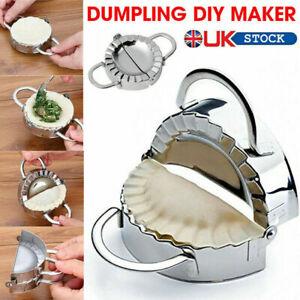 UK Stainless Steel Dumpling Mould Maker Set Machine Cutter Press Meat Pie Making