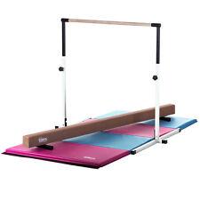 Kids Horizontal Bar, Balance Beam and Folding Gymnastics Mat by Nimble Sports