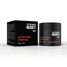 Classic Pomade Strong Hold 02 - The Bearded Man Company