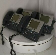 Lot Of 4cisco 7941 Cp 7941g Ge Ip Phones 7900 Series See Notes