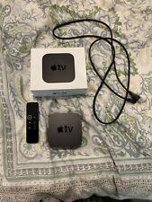 Apple TV (5th Generation) 4K HD Media Streamer (MP7P2LL/A) - Black