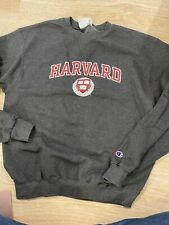 (bb99k) champion harvard University Medium Gray sweatshirt