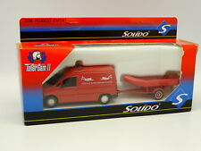 Solido Pompiers 1/43 - Peugeot Expert + Remorque Plongeurs