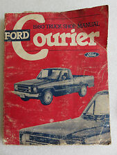 1980 Ford Truck Courier Shop Service Repair Manual OEM Factory Dealership