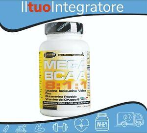 BCAA 8:1:1 Aminoacidi Ramificati 811 Con Glutammina Peptide e Vitamine Gruppo B