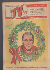 Democrat & Chronicle TV Tab December 19 1966 Perry Como Christmas Special