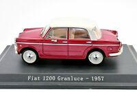Coche Auto Fiat 1200 Luz Del Día NOREV Escala 1/43 diecast miniaturas Colección
