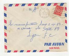 1 timbre F.M sur lettre 1959 tampon  Poste aux Armées A.F.N.  /L287